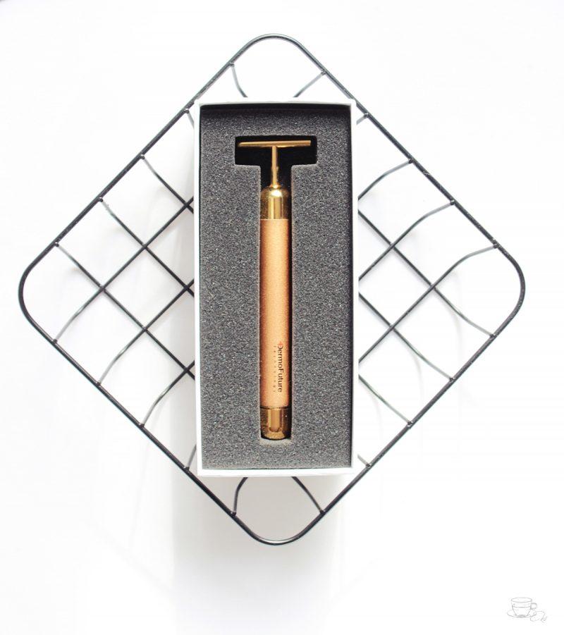 DermoFuture Technology: Ansiktsmassage i guld