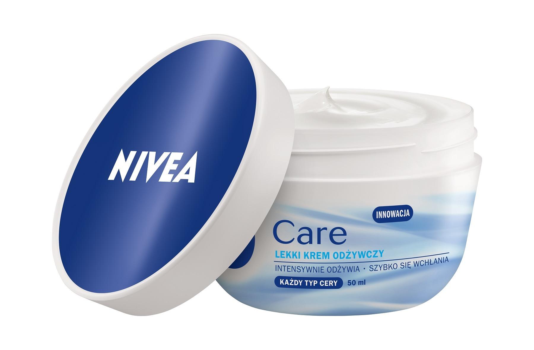 Nivea Care – Lätt vårdande kräm för alla hudtyper