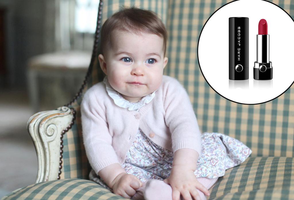 Charlotte – Marc Jacobs läppstift till den brittiska prinsessan