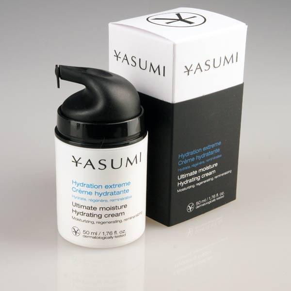 Förnyelse med Ultimate Moisture Hydrating Cream från YASUMI
