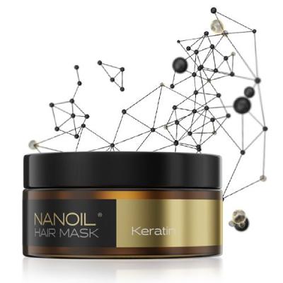 Keratin mask för skadat hår av Nanoil